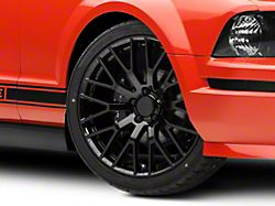 Performance Pack Style Black Wheel; 20x8.5 (05-09 All)
