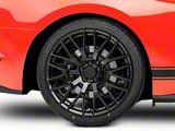 Performance Pack Style Black Wheel; Rear Only; 20x10 (15-21 GT, EcoBoost, V6)