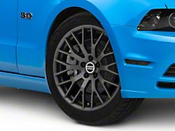 Performance Pack Style Charcoal Wheel; 19x8.5 (10-14 All)