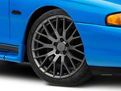 Performance Pack Style Charcoal Wheel; 19x8.5 (94-98 All)