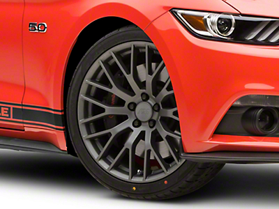Performance Pack Style Charcoal Wheel - 20x8.5 (15-17 All)
