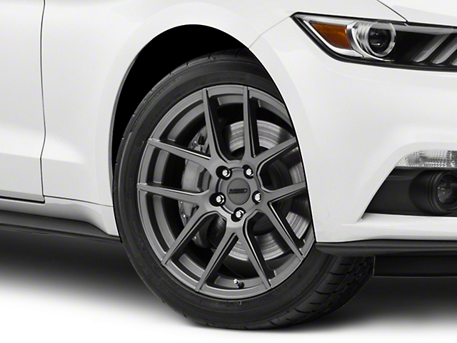 MMD Zeven Charcoal Wheel - 19x8.5 (15-17 All)