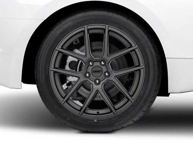 MMD Zeven Charcoal Wheel - 19x10 - Rear Only (15-19 GT, EcoBoost, V6)