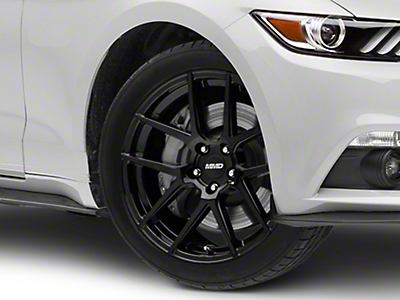 MMD Zeven Black Wheel - 19x8.5 (15-18 All)