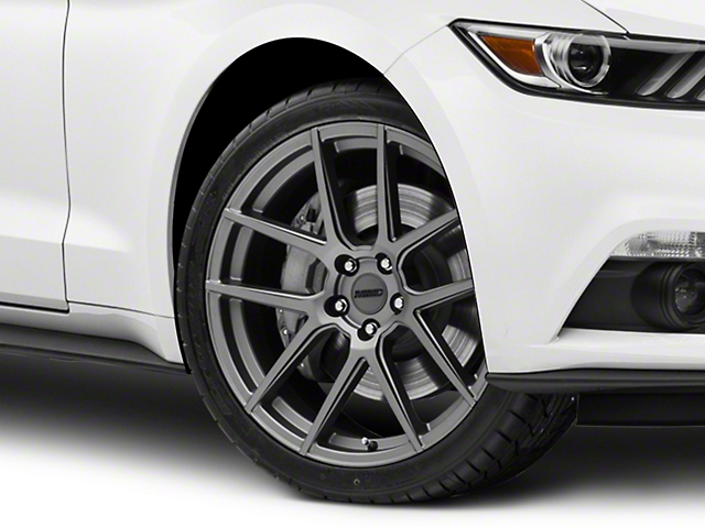 MMD Zeven Charcoal Wheel - 20x8.5 (15-17 All)