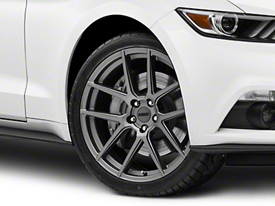 MMD Zeven Charcoal Wheel - 20x8.5 (15-18 All)