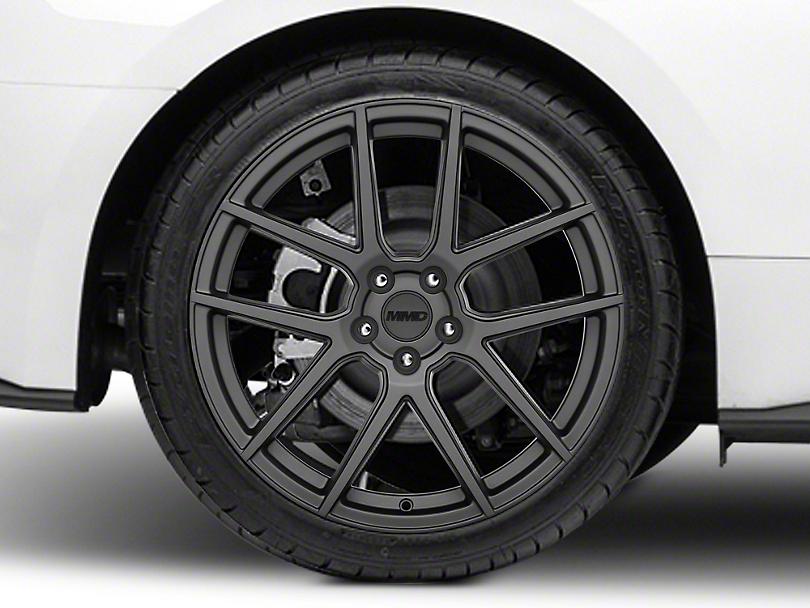 MMD Zeven Charcoal Wheel - 20x10 (15-19 GT, EcoBoost, V6)