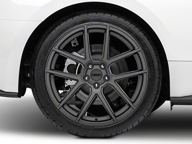 MMD Zeven Charcoal Wheel - 20x10 - Rear Only (15-19 GT, EcoBoost, V6)
