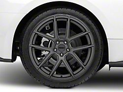 MMD Zeven Charcoal Wheel; Rear Only; 20x10 (15-20 GT, EcoBoost, V6)