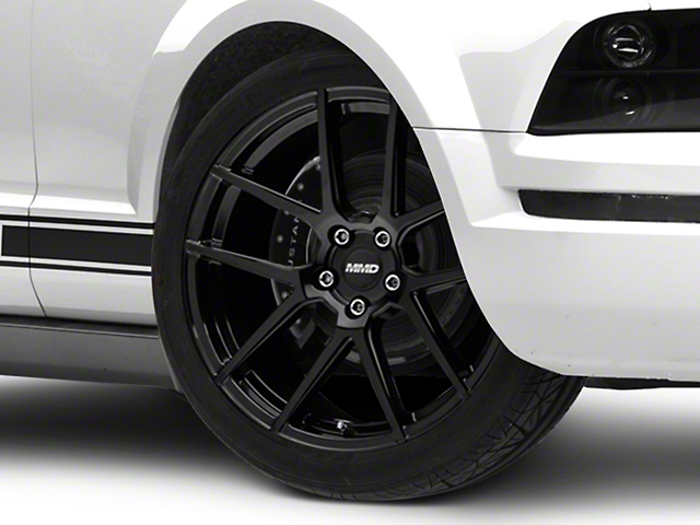 MMD Zeven Black Wheel - 20x10 - Rear Only (05-14 All)