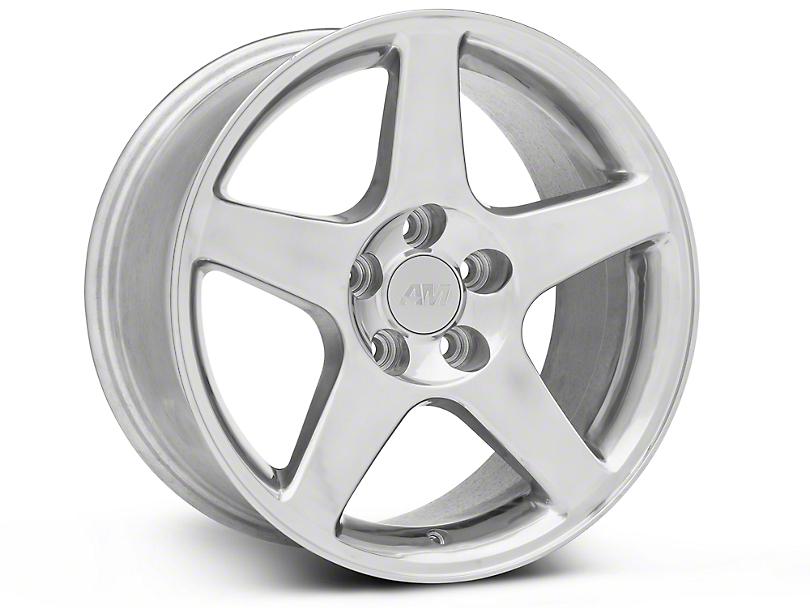 2003 Cobra Style Polished Wheel; 17x9 (94-04 All)