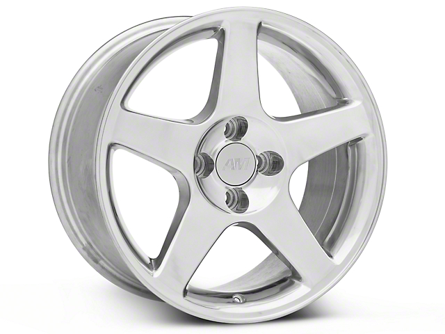 2003 Cobra Style Polished Wheel; 17x9 (87-93 All, Excluding Cobra)