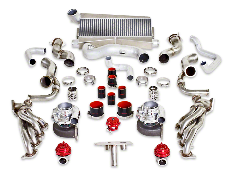 Armageddon Twin Turbocharger Kit - Satin (11-14 GT; 12-13 BOSS 302)