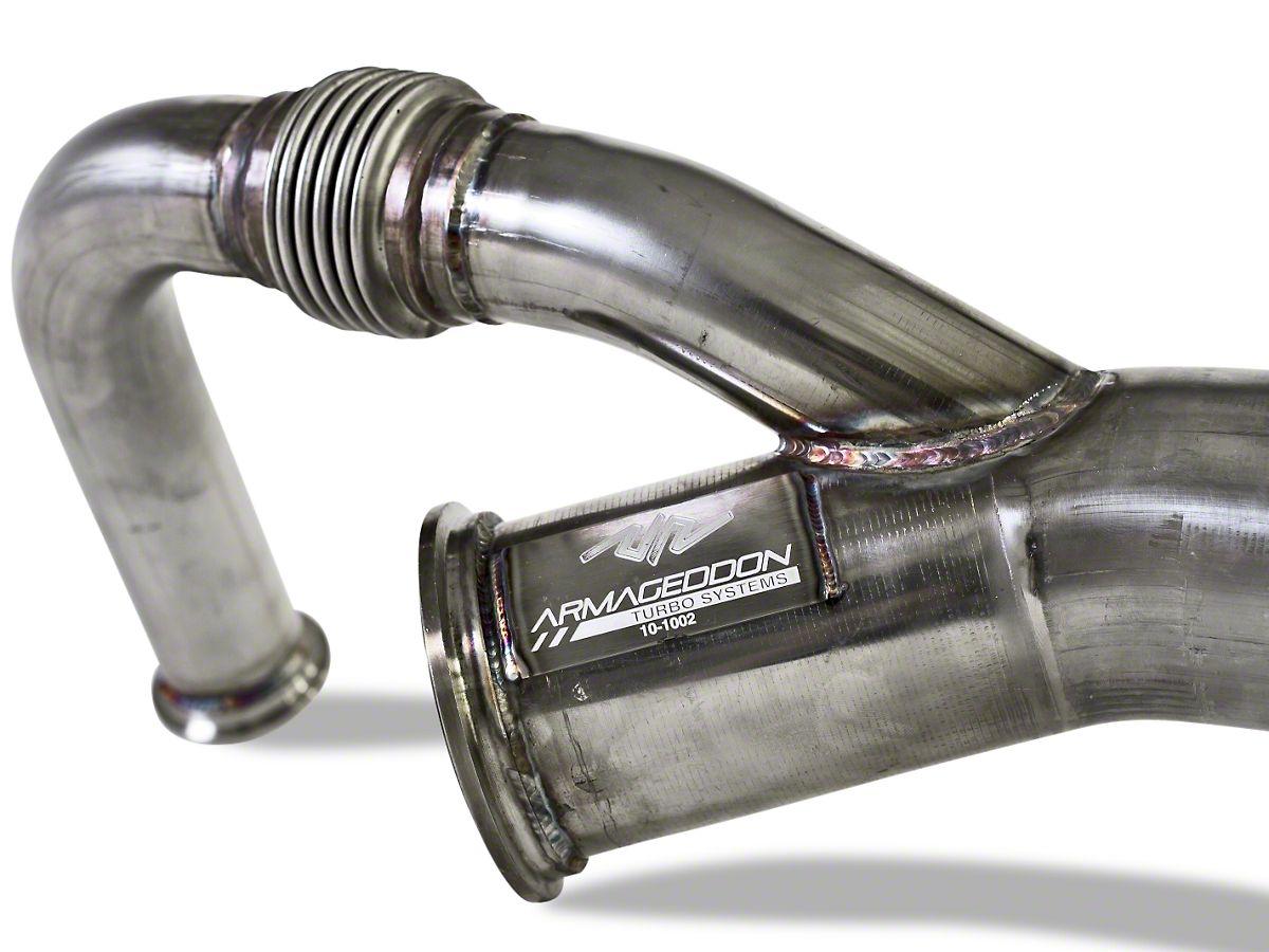 Armageddon Twin Turbocharger Kit - Polished (11-14 GT