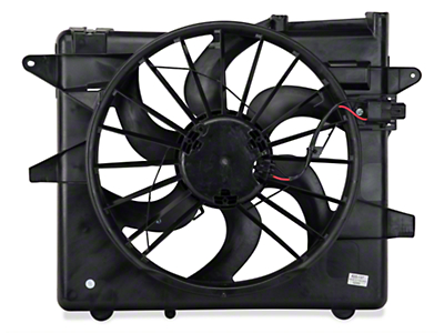OPR Radiator Fan and Shroud Assembly (05-14 All, Excluding 13-14 GT500)