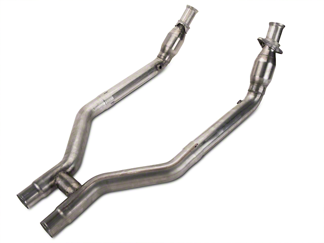 JBA 3 in. Catted H-Pipe (11-14 GT500)
