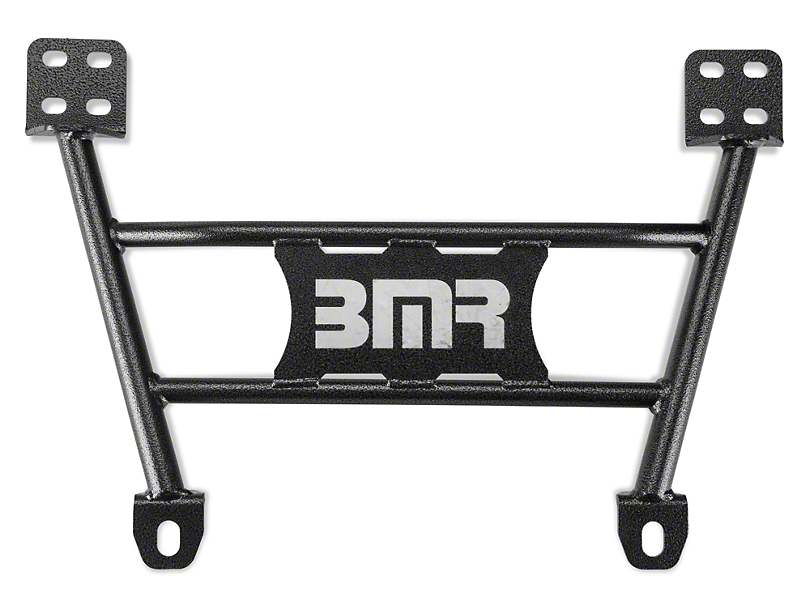 BMR Chassis Brace - Hammertone (05-14 All)