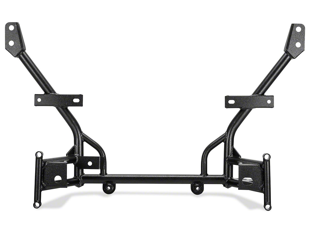 BMR Tubular K-Member - Standard Motor Mounts - Hammertone (05-14 All)