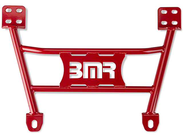 BMR Radiator Support Chassis Brace; Red (05-14 All)