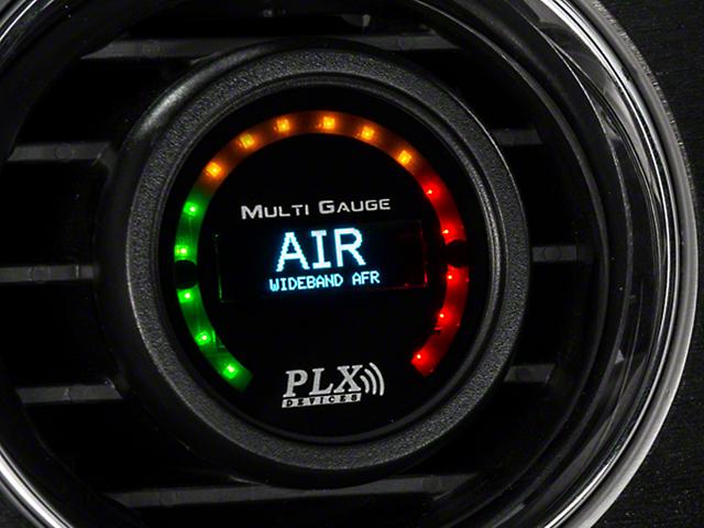 PLX DM-6 Gauge and Wideband Air/Fuel Module Sensor Combo Kit (79-10 All)