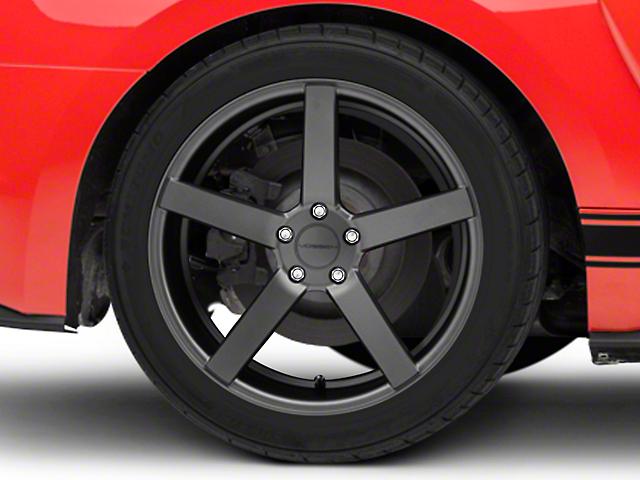 Vossen CV3-R Graphite Wheel - 20x10.5 (15-19 GT, EcoBoost, V6)