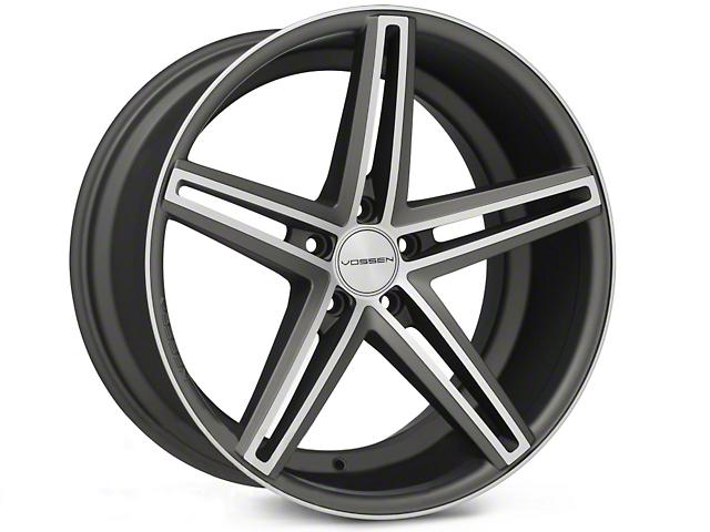 Vossen CV5 Matte Graphite Machined Wheel - 20x10.5 (05-14 All)