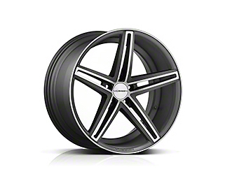 Vossen CV5 Matte Graphite Machined Wheel - 20x10.5 (15-17 All)