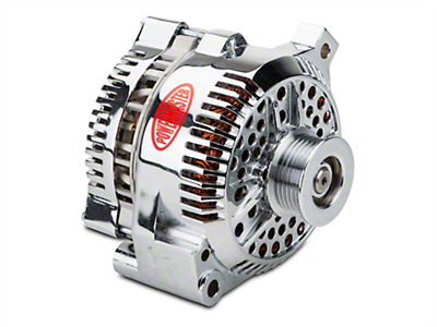 Powermaster Alternator - 200 Amp Chrome (94-95 GT; 94-00 V6)