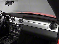 Alterum Premium Black Leather Dash Cover - Red Stitch (05-09 All)