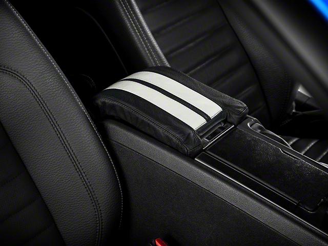 Alterum Premium Leather Arm Rest Cover w/ Padding - White (10-14 All)