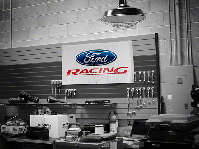 Ford Performance Garage Banner