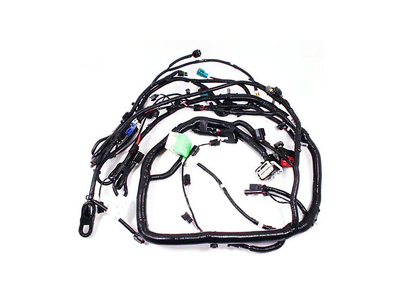 ford performance mustang control pack engine harness m-12b637-a54sc  10-12 gt500