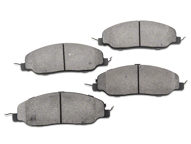 StopTech Street Performance Low-Dust Composite Brake Pads - Front (11-14 Standard GT, V6)