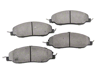 StopTech Street Performance Low-Dust Composite Brake Pads - Front (11-14 GT, V6)