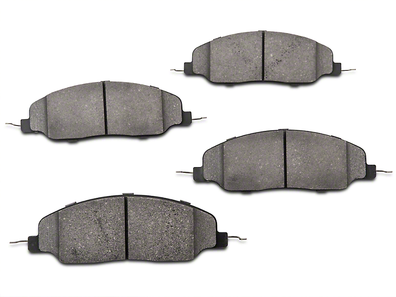 StopTech Street Performance Low-Dust Composite Brake Pads - Front Pair (05-10 GT, V6)