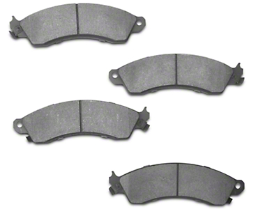 StopTech Street Performance Low-Dust Composite Brake Pads - Front Pair (94-04 Cobra, Bullitt, Mach 1)