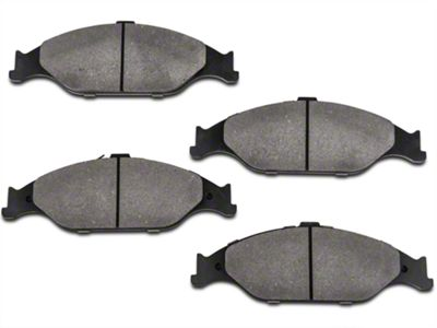 StopTech Street Performance Low-Dust Composite Brake Pads - Front Pair (87-93 5.0L)