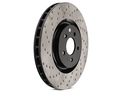 StopTech Sport Cross-Drilled Rotors - Front Pair (07-12 GT500; 12-13 Boss 302; 11-14 GT Brembo)