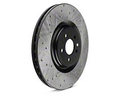 StopTech Sport Cross-Drilled Rotors; Front Pair (13-14 GT500)