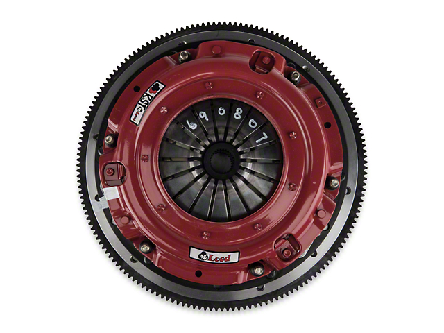 McLeod RST Twin Disc 800HP Organic Clutch Kit with 8-Bolt Flywheel; 26 Spline (07-09 GT500)