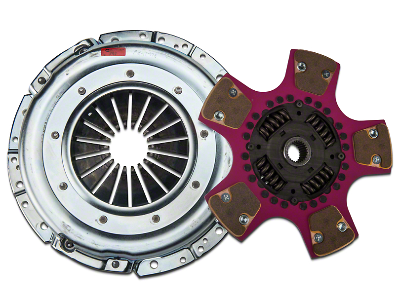 Exedy Mach 700 Stage 4 Clutch w/ Puck-Style Flywheel and Hydraulic Throwout Bearing (07-11 GT500)