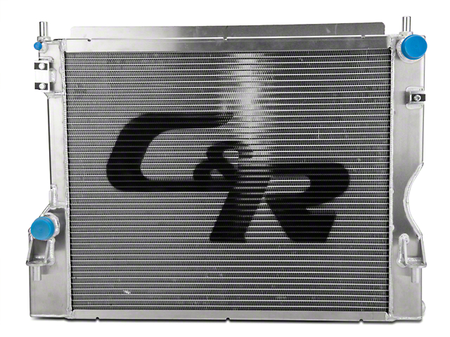 C&R Racing High Capacity Performance Radiator (11-14 GT; 12-13 BOSS 302)