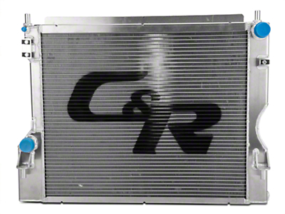 C&R Racing High Capacity Performance Radiator (11-14 GT; 12-13 BOSS 302)