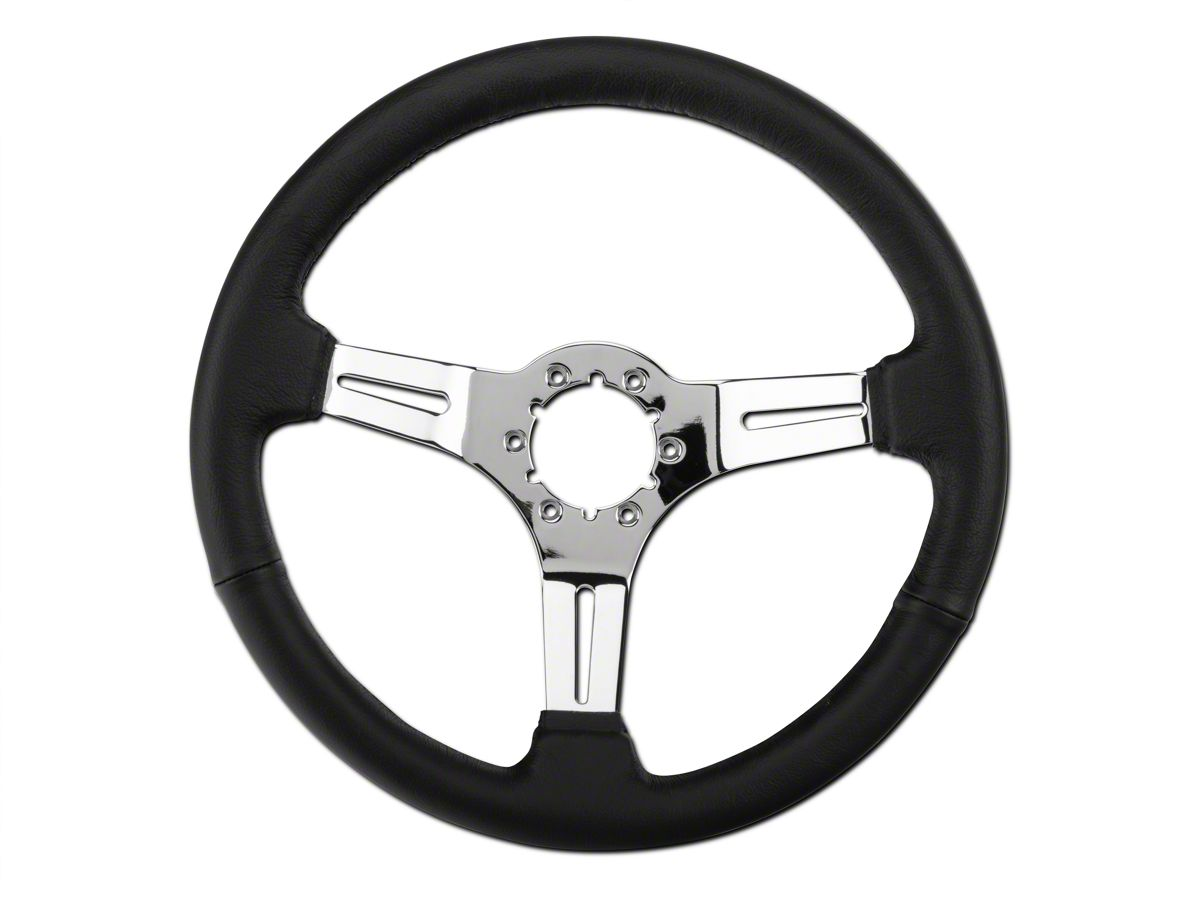 Alterum Mustang Black Leather Steering Wheel 102415 79 04 All