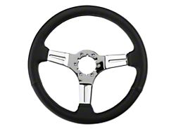 Alterum Black Leather Steering Wheel (79-04 All)