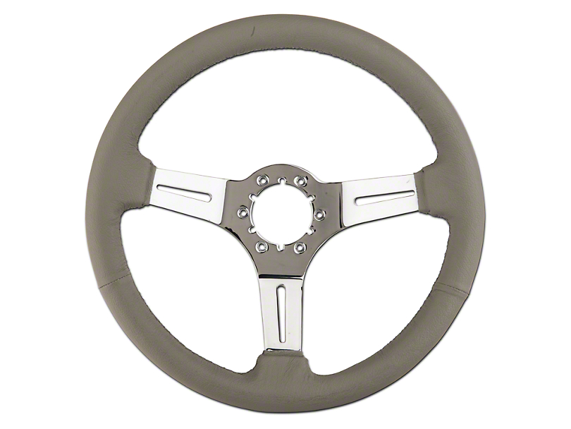 Gray Leather Steering Wheel (79-04 All)