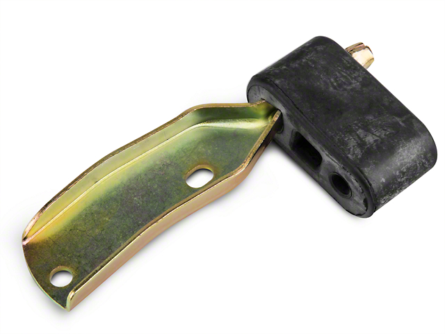 OPR Tail Pipe Hanger with Rubber Insulator; Right Side (86-98 All)