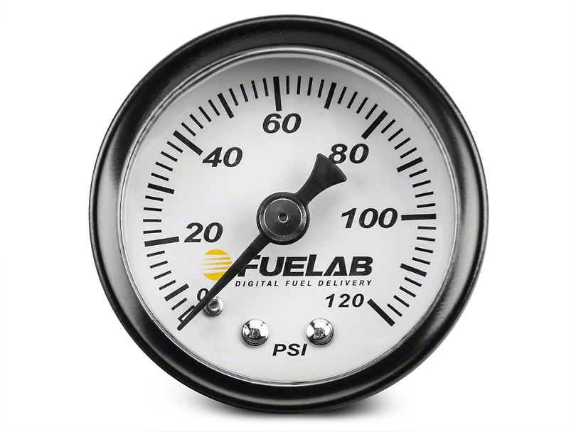 Fuel Pressure Gauge - 1.5 in. (86-19 All)