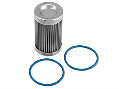 Fuelab Fuel Filter Replacement Element - 40 Stainless Steel (86-18 All)