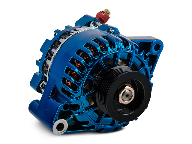 PA Performance Alternator; 130 Amp; Blue (01-04 V6)